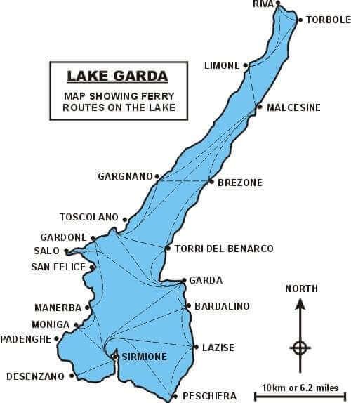 lake garda ferry routes