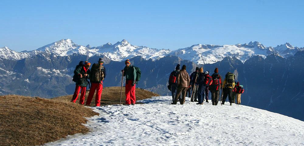 Trekking in Great Himalayan National Park