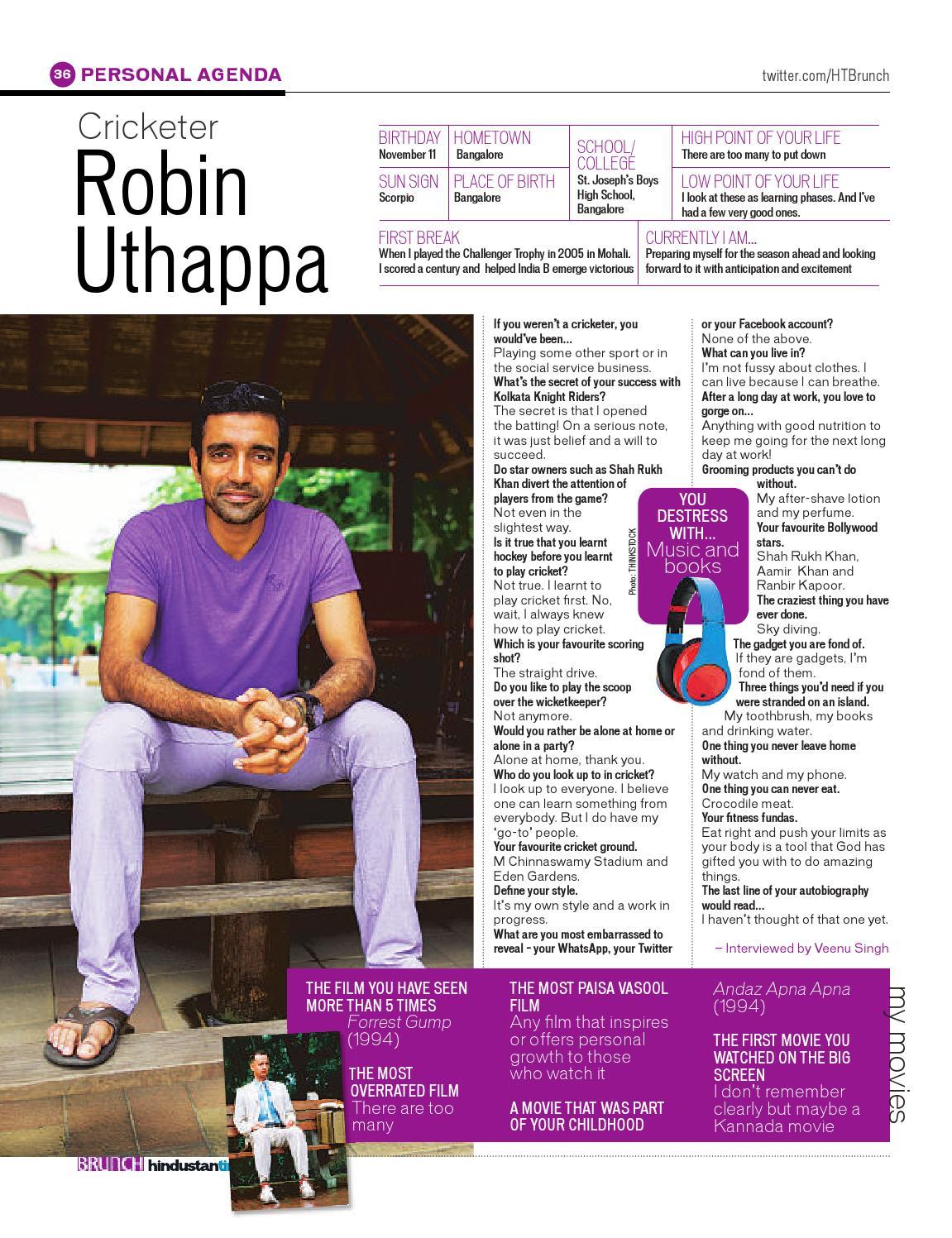 About Robin Uthapa