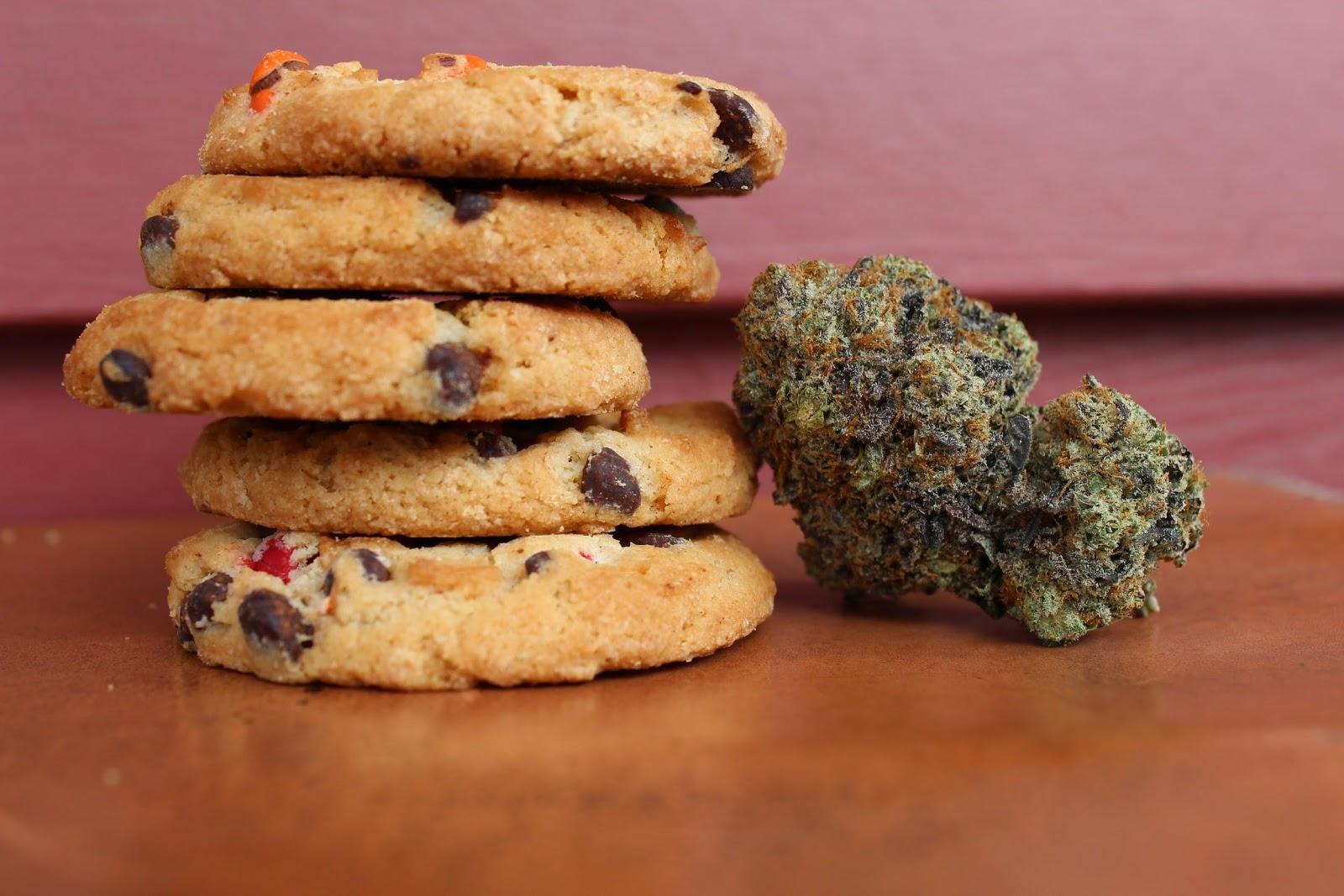 CBD oil, weed edibles like chocolates, cookies,