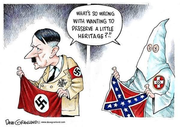 Confederate Flag is Racist Symbol