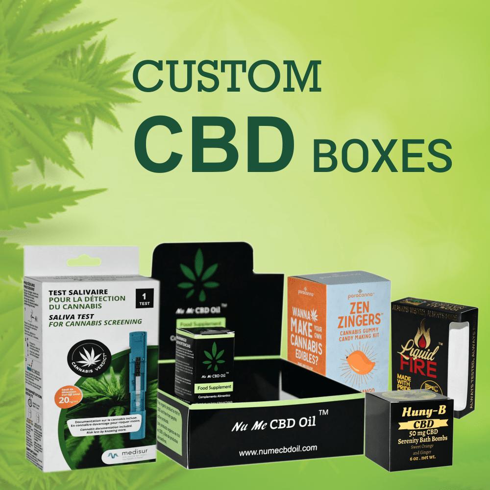 Growing Demand of Custom CBD Packaging Boxes in 2021