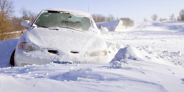 Car Gets Stuck