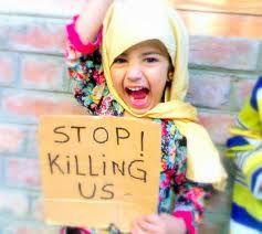BOMB innocent PEOPLE