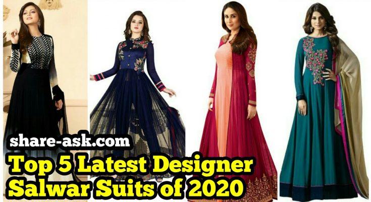 latest designer salwar suits 1