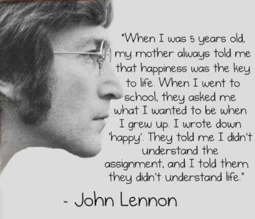 most inspirational john lennon quotes